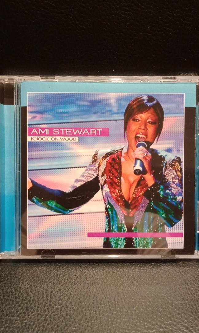 Ami Stewart knock on wood