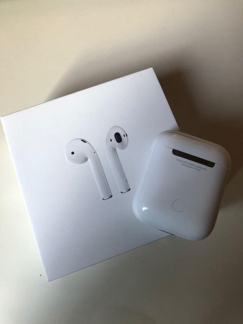 Apple Airpods 2nd Gen Non Wireless Charging Electronics Audio