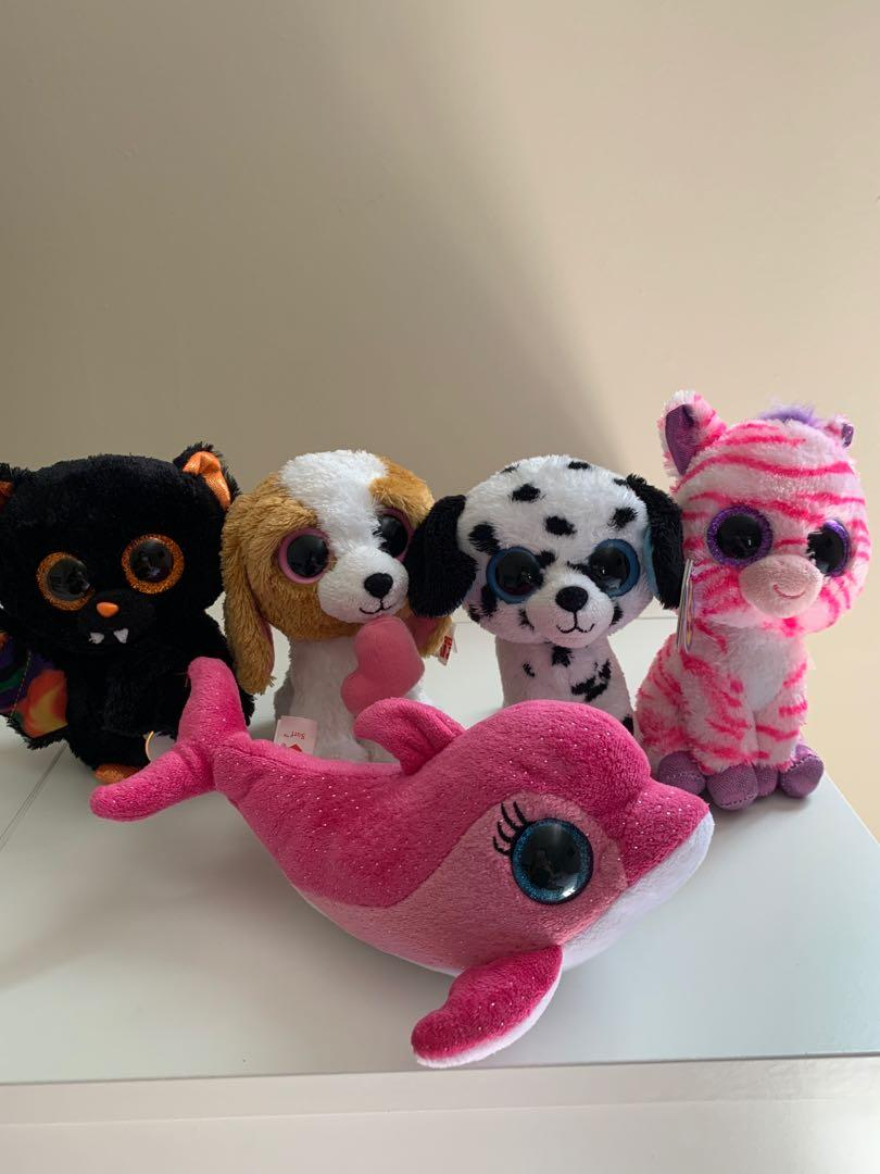 Assorted Beanie Boo's TY Babies