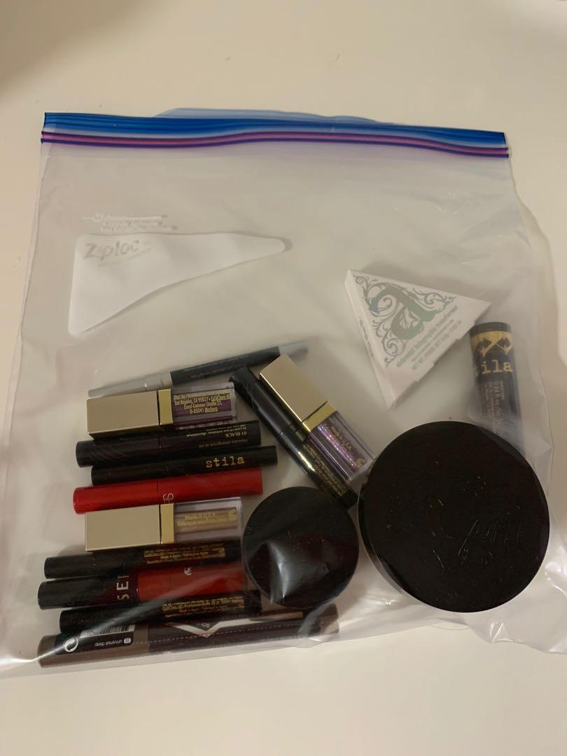 Assorted NEW Goody Bag. Kat Von D, Stila, Urban Decay