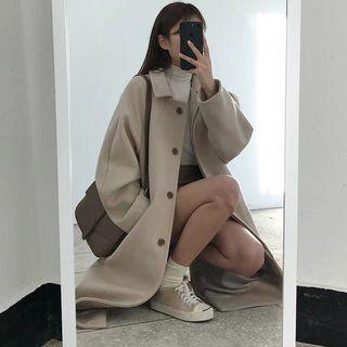 Beige Long Coat