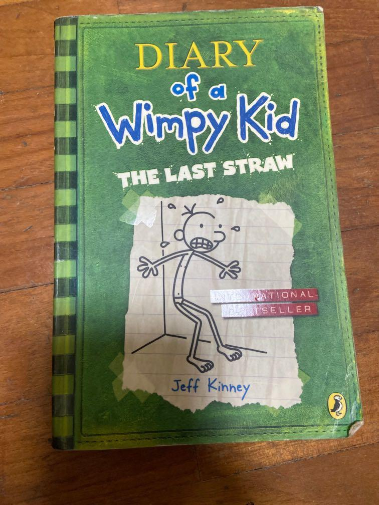Diary Of A Wimpy Kid The Last Straw Books Stationery Fiction On Carousell