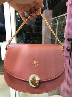Dusty Pink Tas Selempang dan Hand Bag