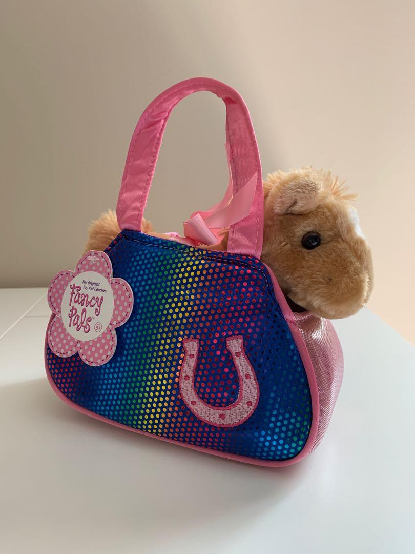 Fancy Pets Horse Toy with Purse