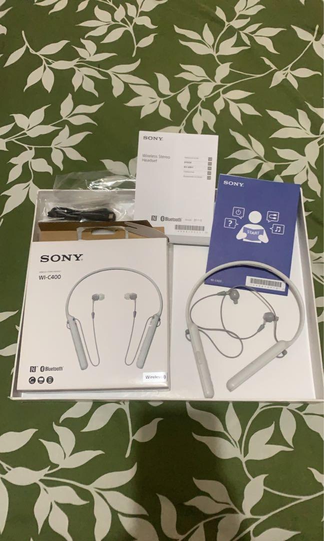 Headset Wireless Sony WI-C400