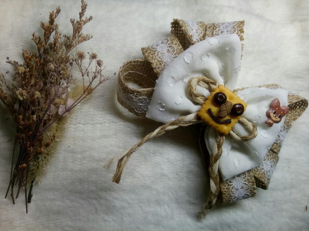 Jepitan Rambut Handmade 01 - Free Pouch