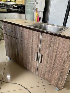 Kabinet Sinki Dapur Mudah Alih