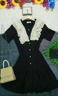 Korean Ruffled Dress