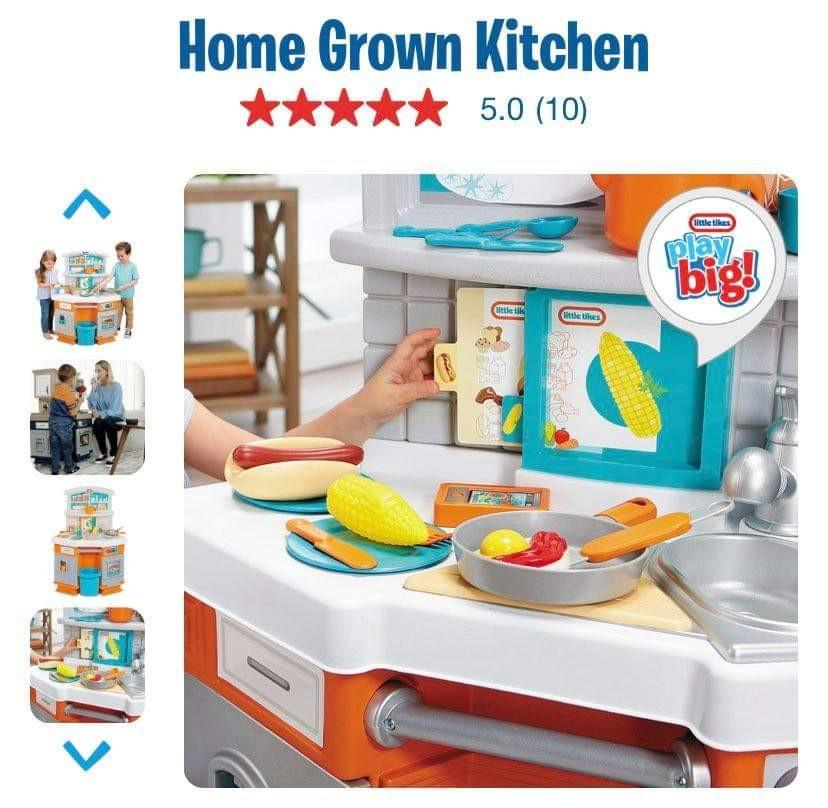 Little Tikes Big Kitchen Set Original From Usa Babies Kids Infant Playtime On Carousell