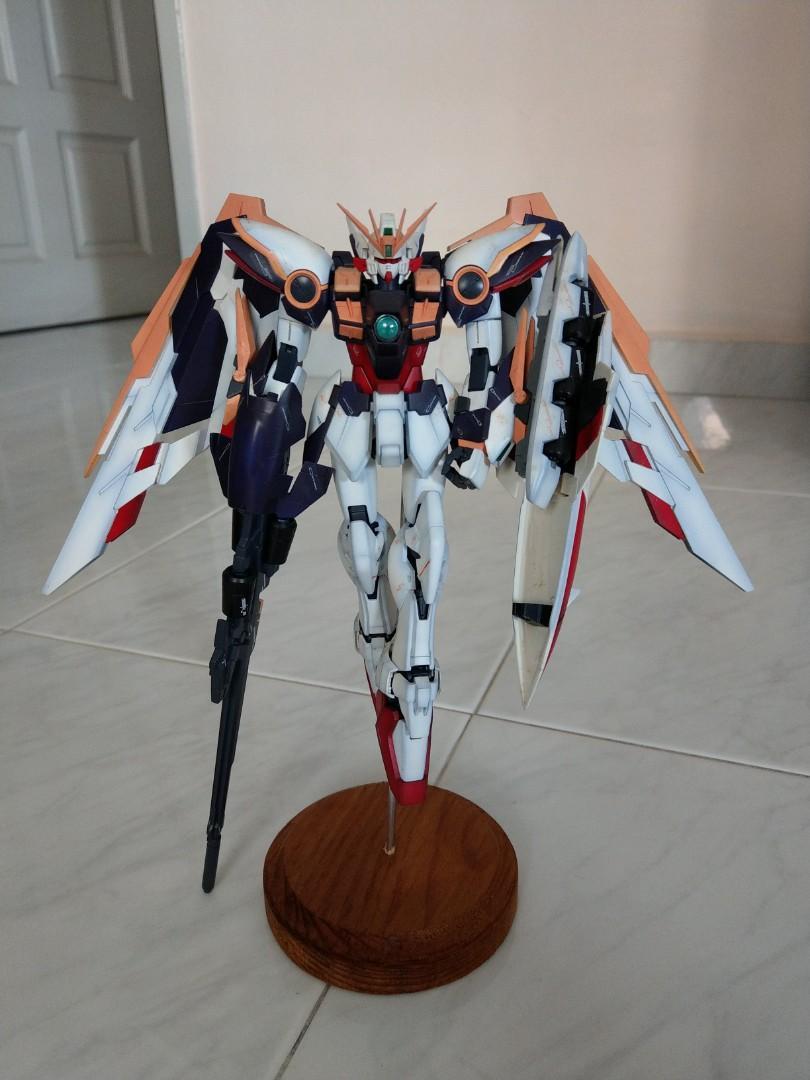 Mg Gundam Wing Ver Ka Painted Toys Games Bricks Figurines On Carousell