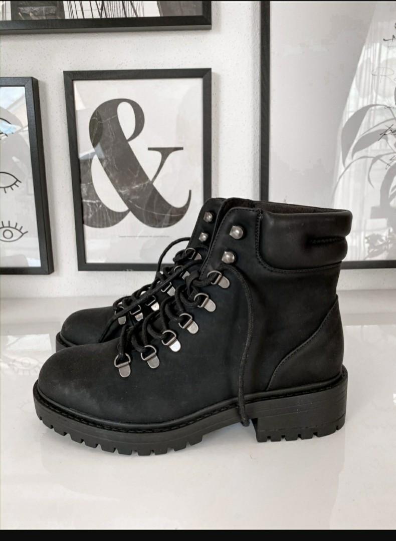 Primark Black boots for women, Women's