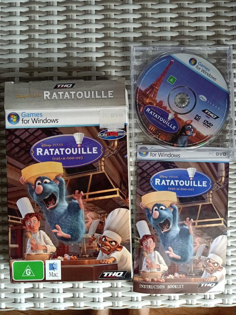 Ratatouille Vintage PC DVD Original Game