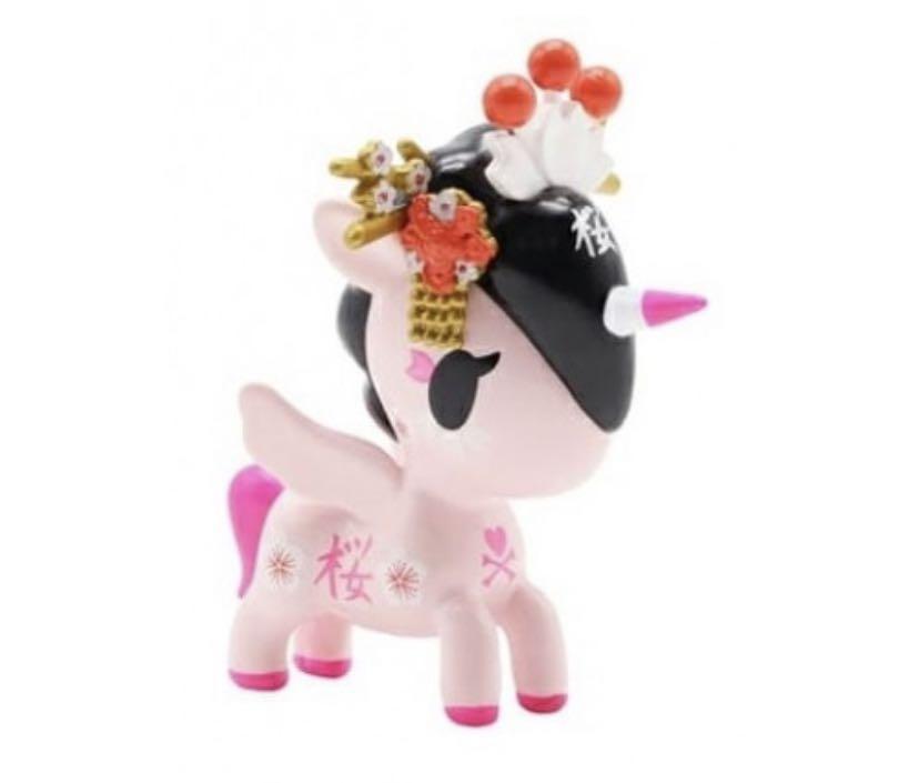 TokiDoki Unicorno Cherry Blossom Series Sakurako
