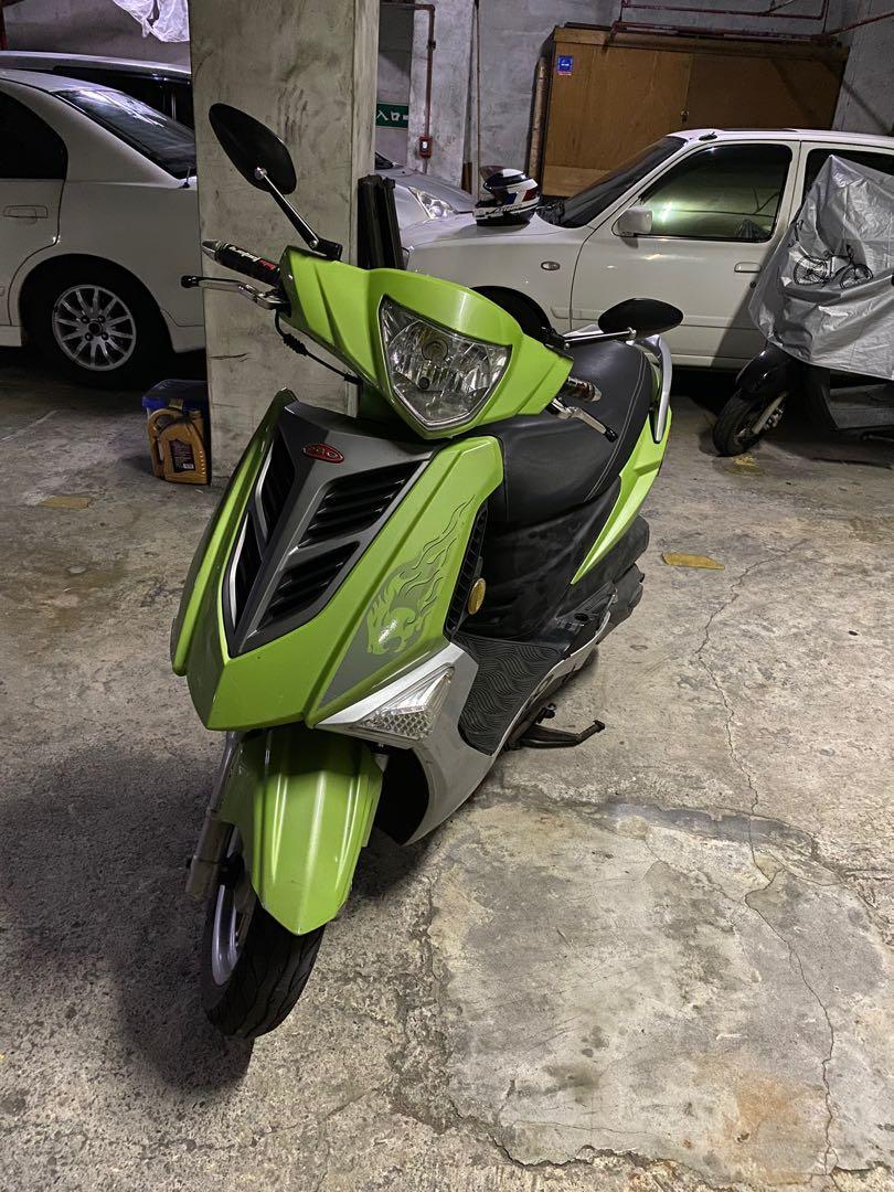 [自售]2012 PGO TIGRA彪虎125