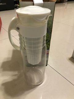 白色巨塔玻璃泡茶壺