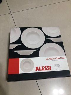 ALESSI美之瓷器湯碗盤,義大利麵盤2入
