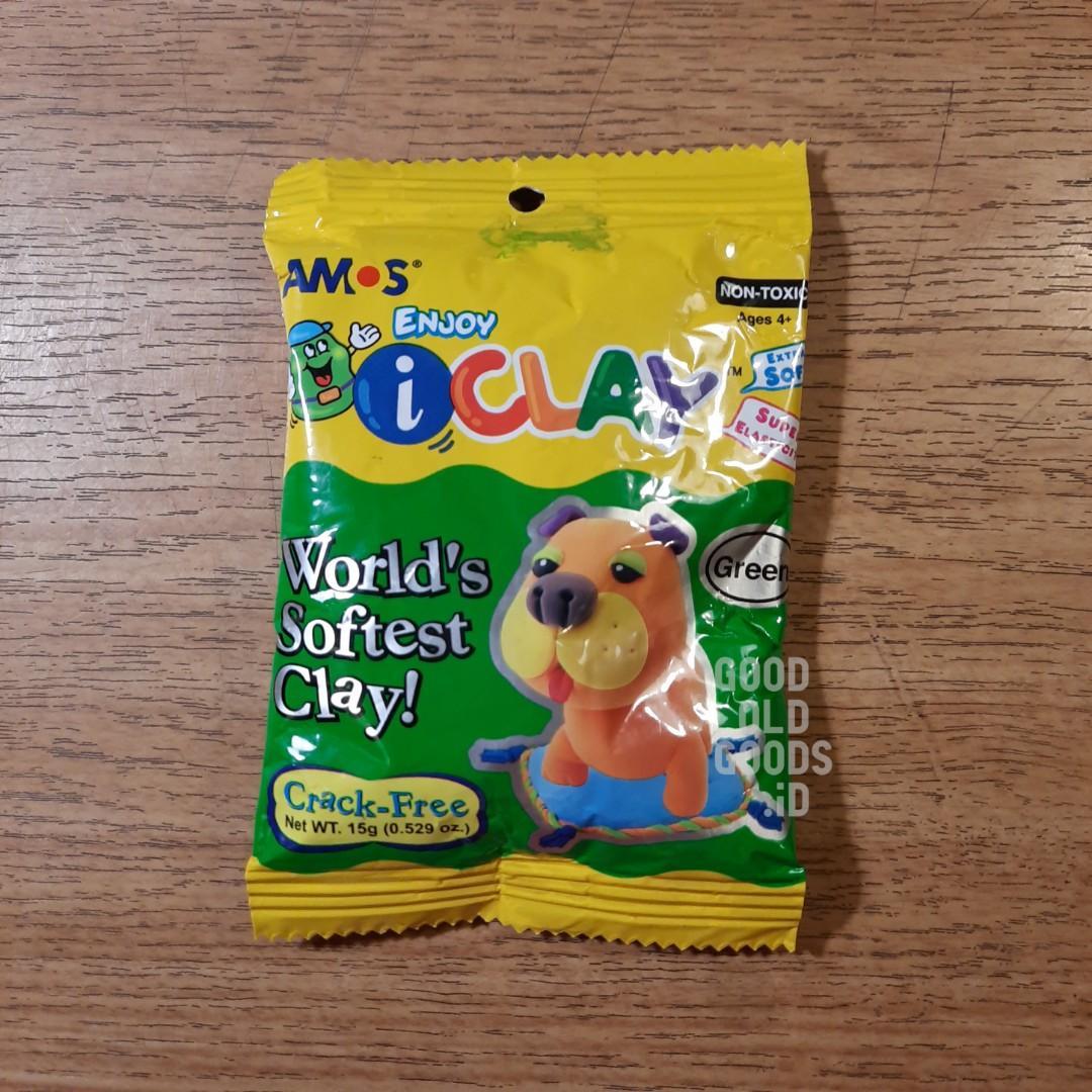 AMOS i-Clay soft clay green #baranganak