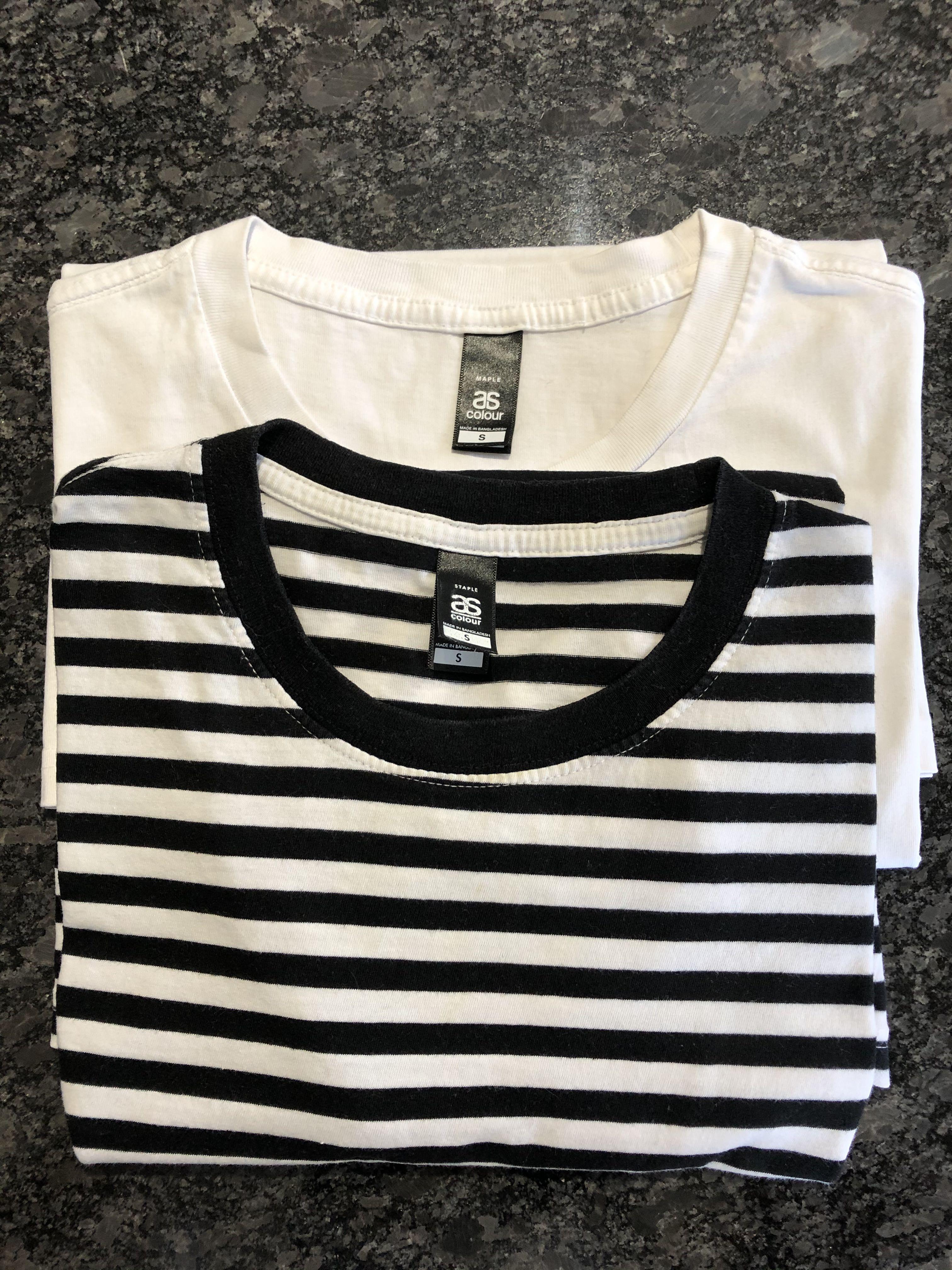 AS Colour Stripe T-shirts
