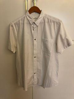 Bakers Tailored Fit Cotton White Shirt