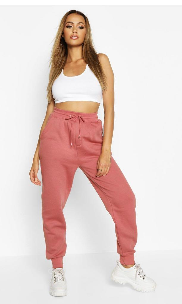 Boohoo Pink and Grey SweatPants