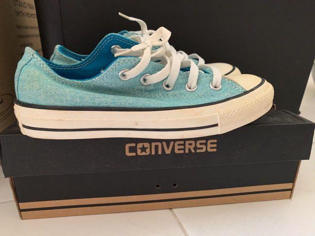 Converse Sneakers (Neon Blue), Men's