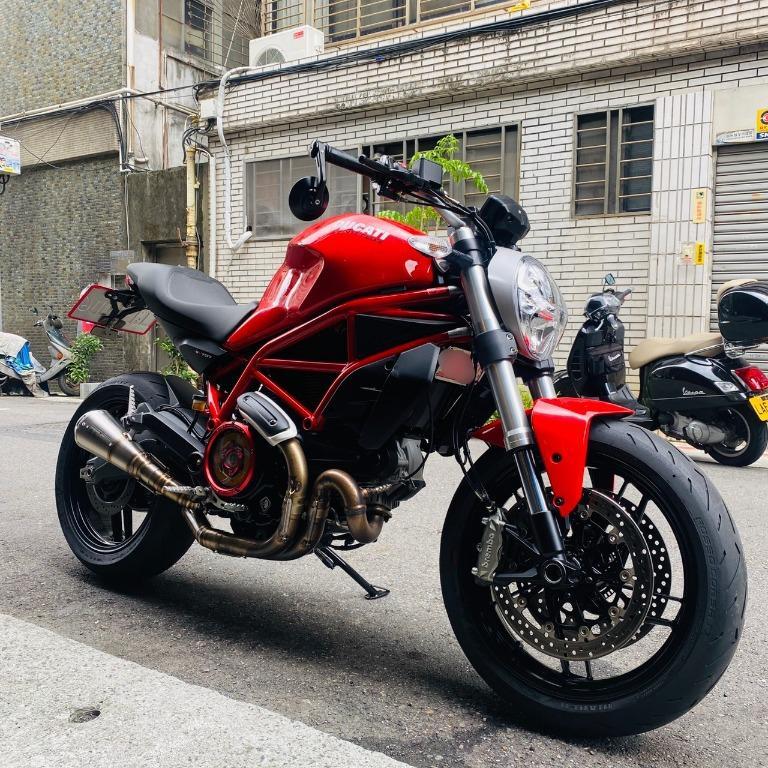 Ducati Monster 797 ABS L型雙缸 倒叉 氣冷 扭力 滑離 編織鋼管車架 monster796 Monster821 monster1100 S4R  可車換車 分期業界最優