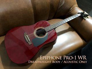 Epiphone PRO-1 WR Acoustic Guitar