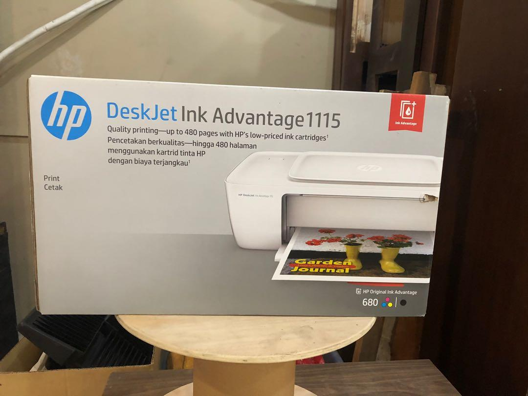 Hp Deskjet Ink Advantage 1115 Printer Electronics Printers Scanners On Carousell