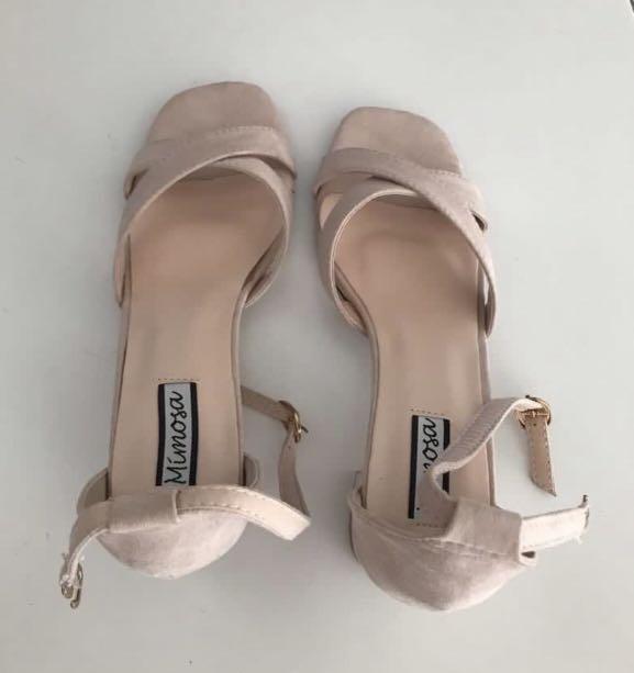Light pink heels, Women's Fashion