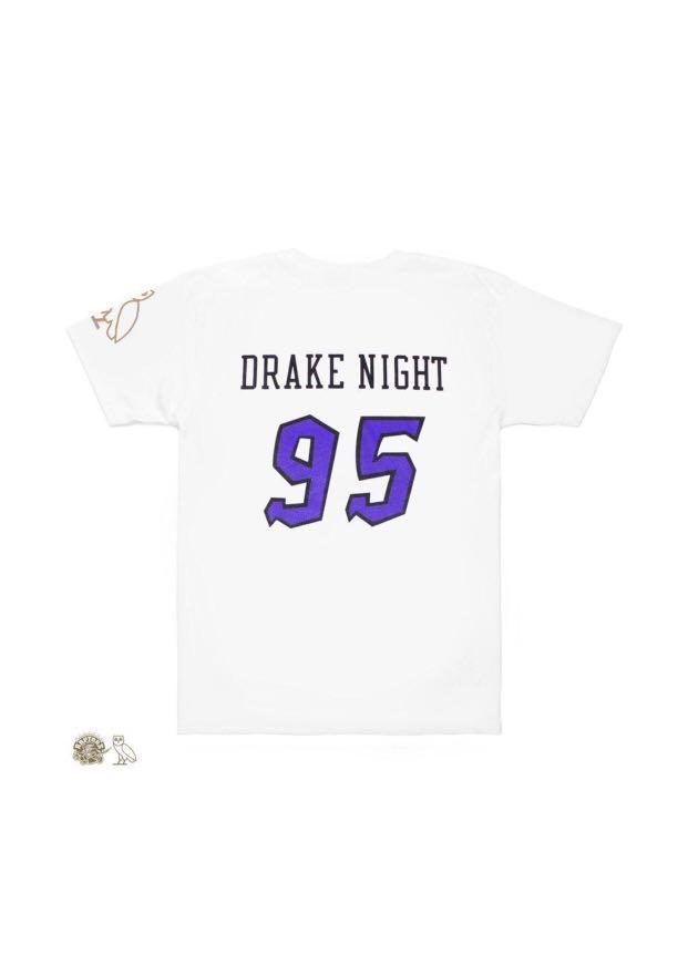 New Raptors Drake Night OVO t-shirt