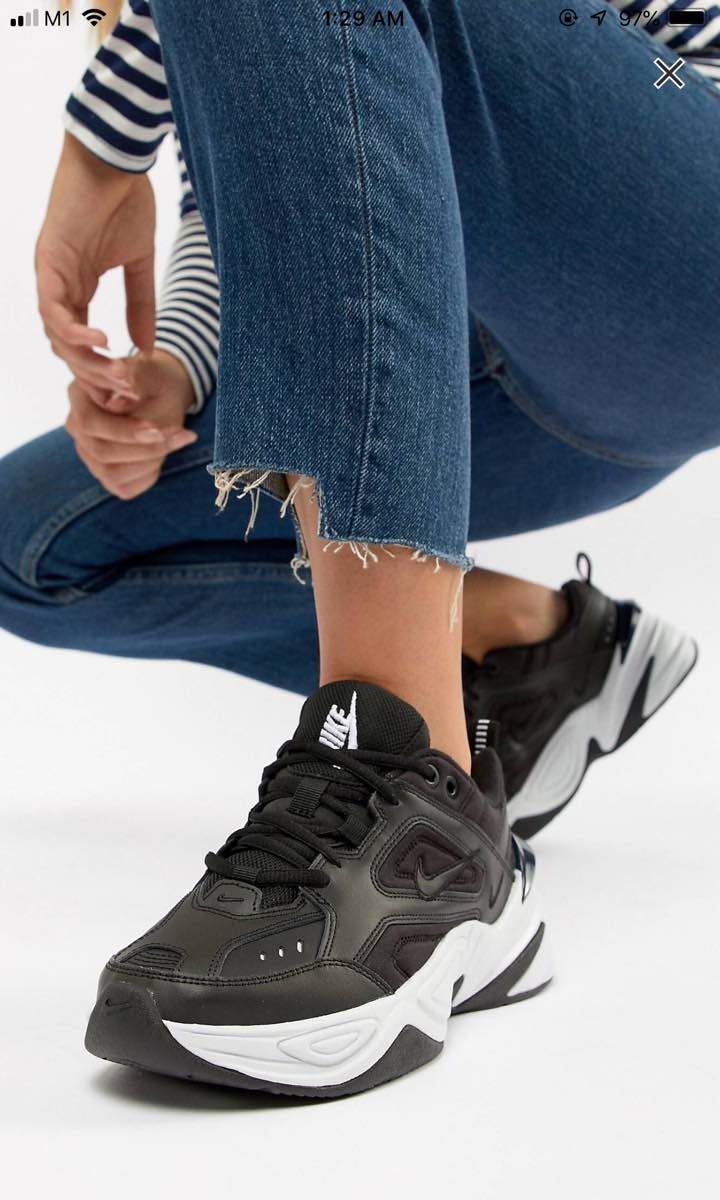 Nike M2k Tekno Black White Sneakers