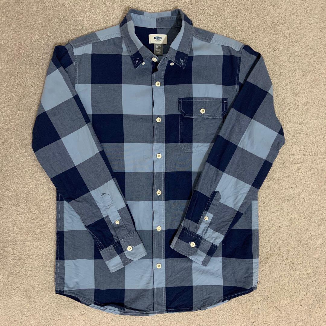 Old Navy Boys Long Sleeve Shirt