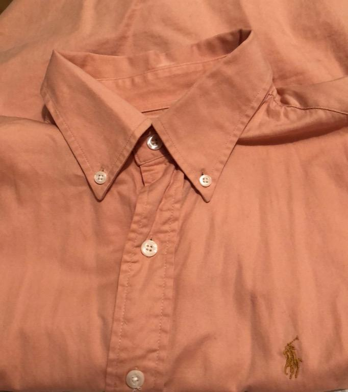 Polo by Ralph Lauren pink button down