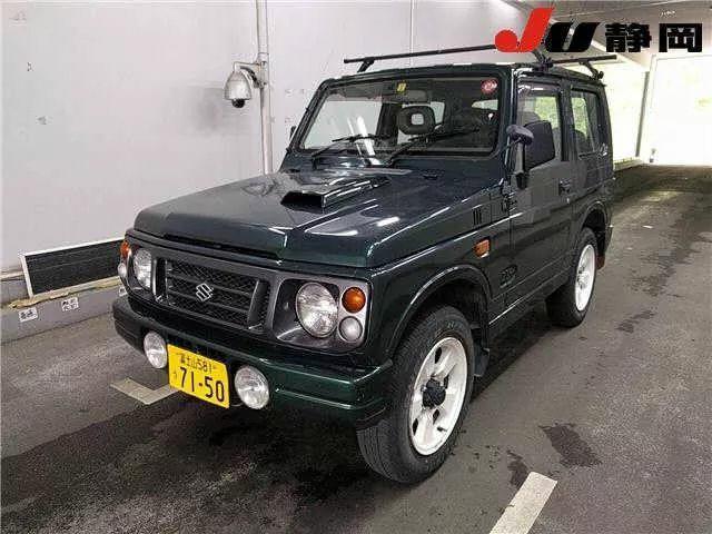 Suzuki Jimny ja22w Manual
