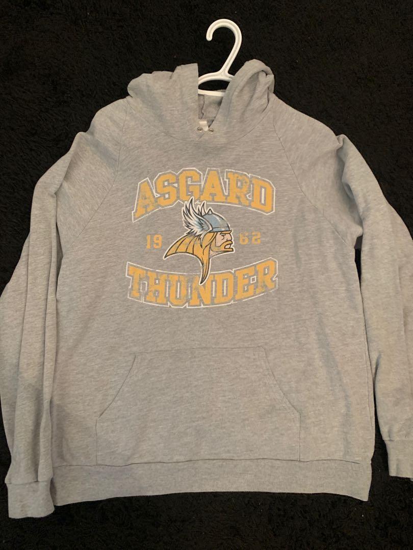 Thor Asgard Thunder Unisex Hoodie L
