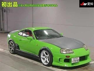 Toyota SUPRA JZA80 Manual