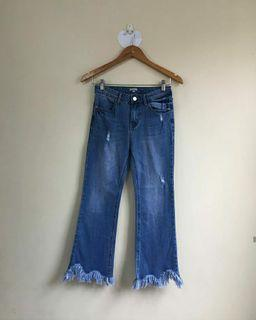 6ixty 8ight Frey Hem Jeans