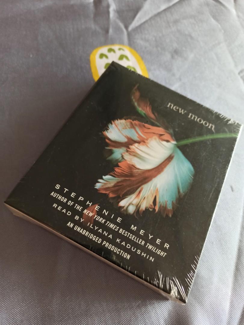 暮光之城:新月 英文CD原文書
