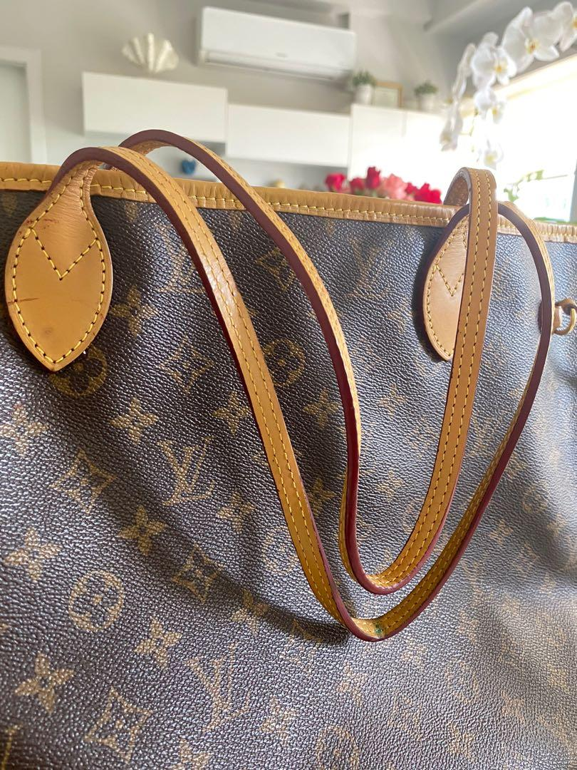 Authentic Louis Vuitton Neverfull Mm Luxury Bags Wallets On Carousell