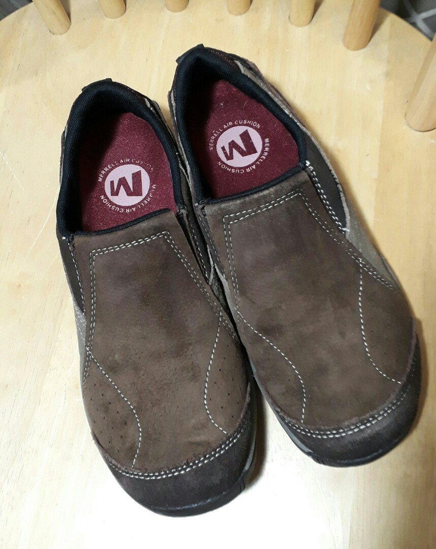 merrell suede shoes