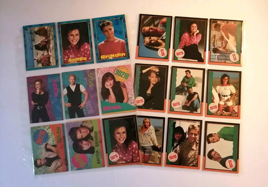 Beverly Hills 90210 trading cards