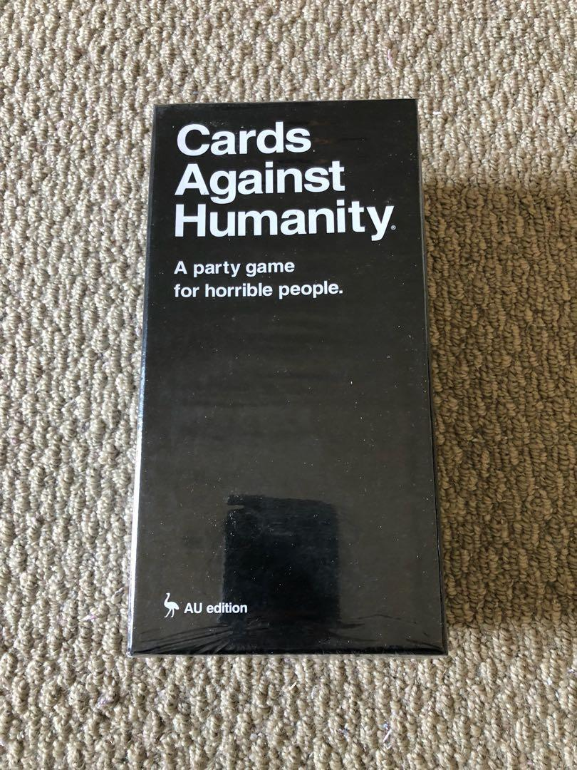 Cards against humanity AU version
