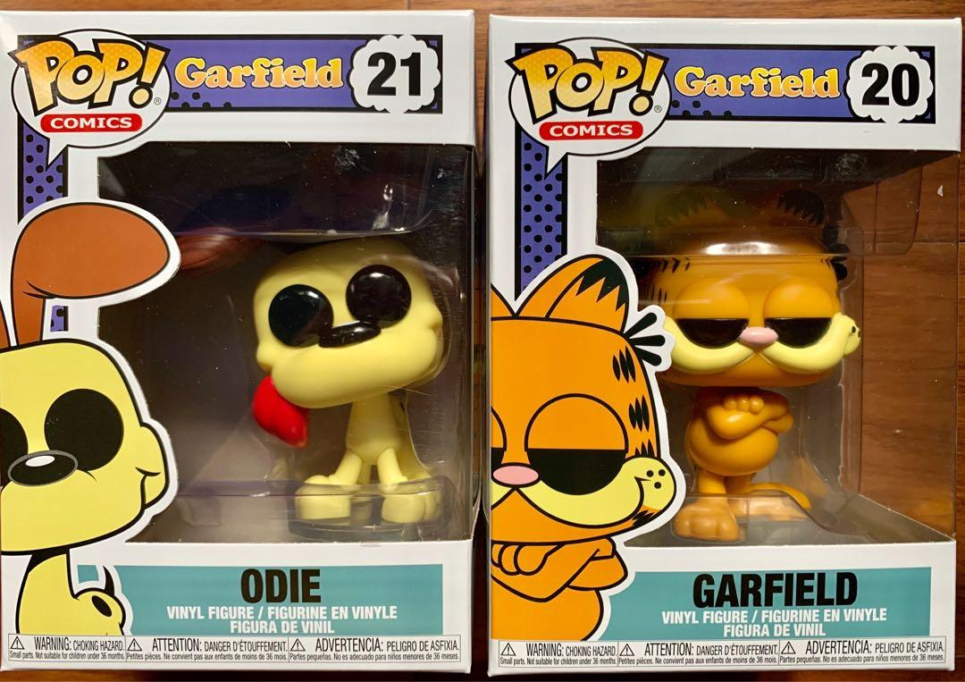 Funko Pop Garfield And Odie Toys Games Toys On Carousell