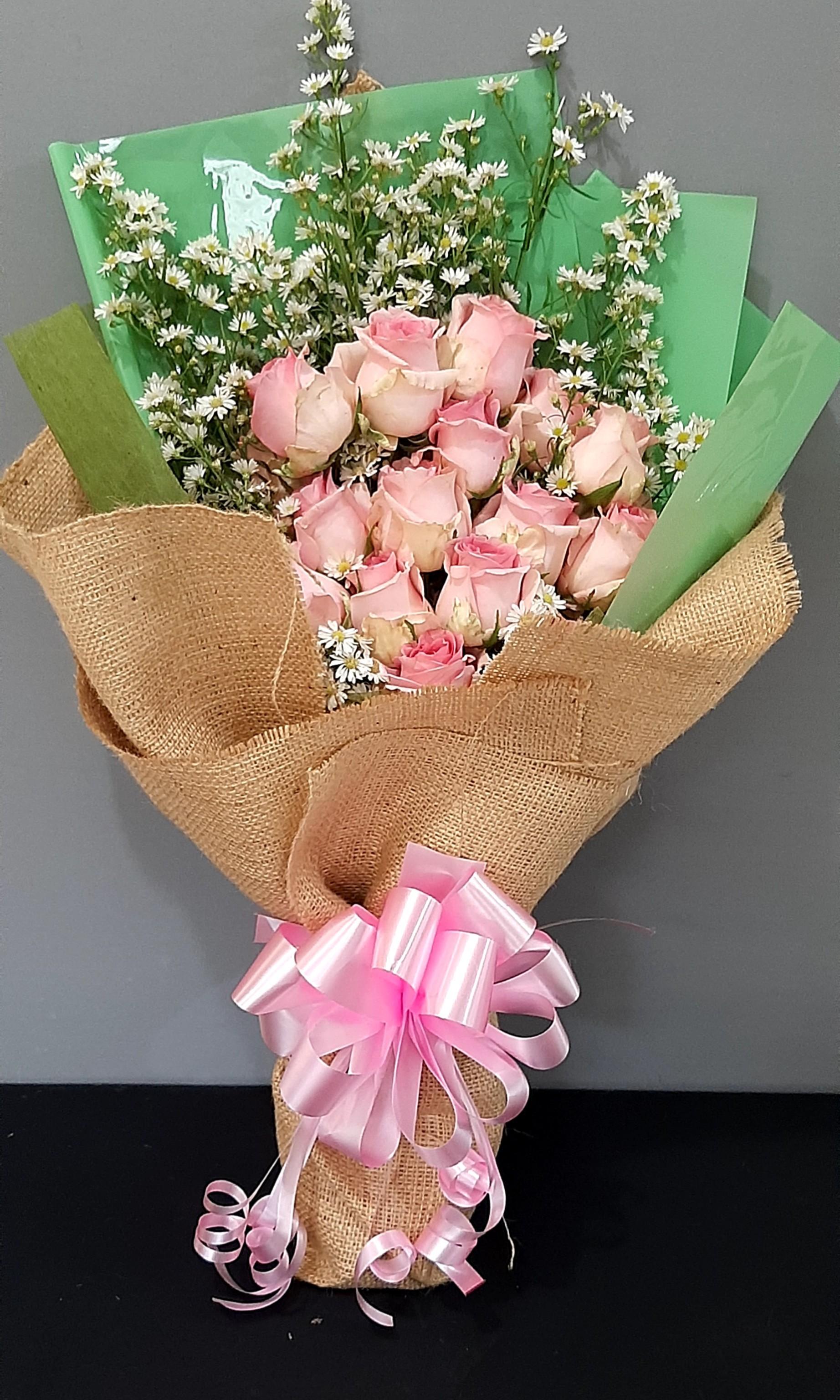 Handbouget fresh flower