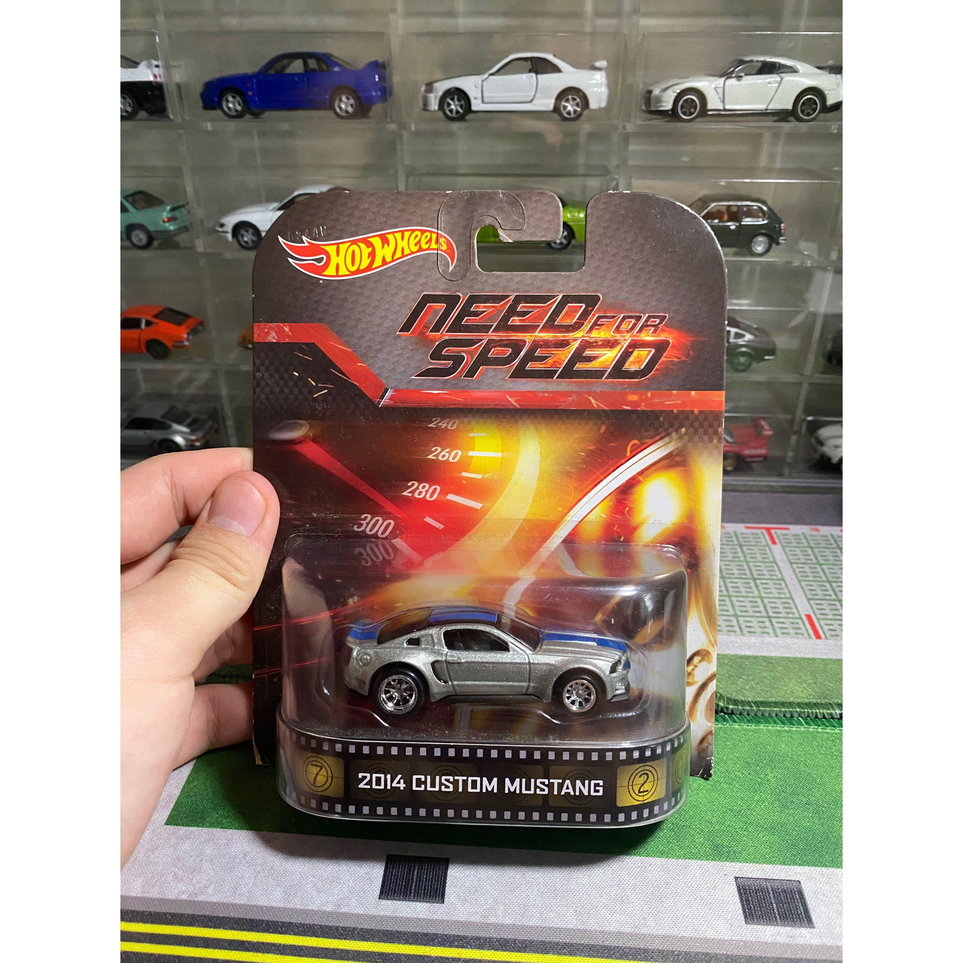 Hotwheels Custom Mustang Nfs Movie Series Toys Games Others On Carousell