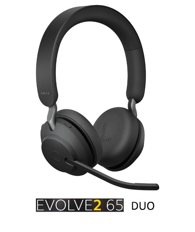 Jabra Headset Evolve2 65 Duo New Release 2020 Version Brand New Authentic Electronics Audio On Carousell