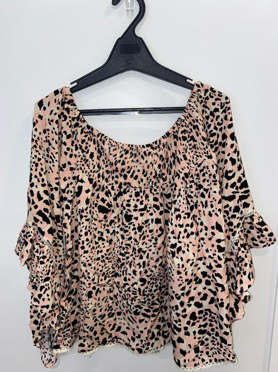 Label of Love - Cheetah Print Blouse