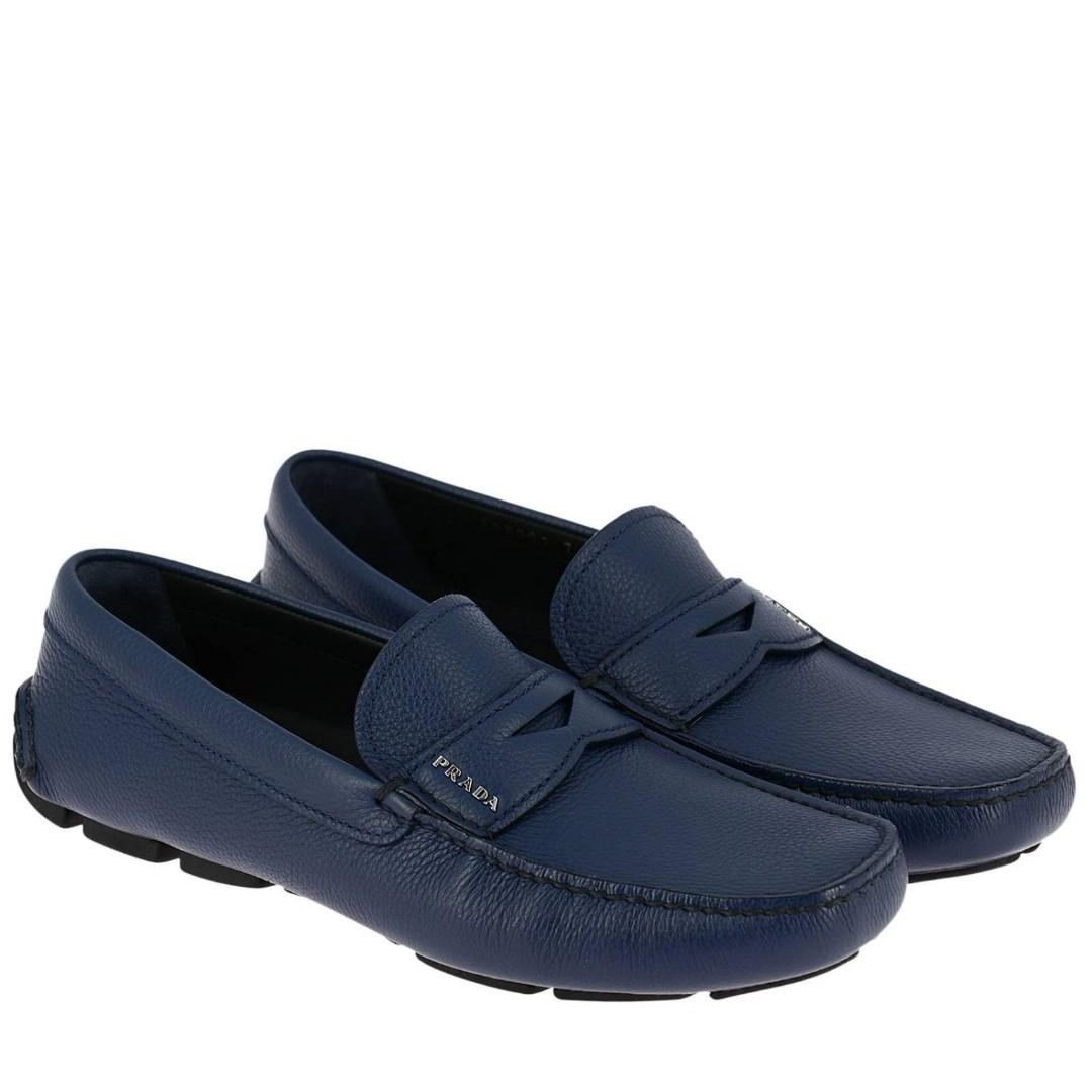 Limited Edition Prada Loafers Blue, Men