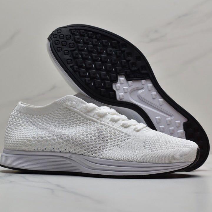 Nike Flyknit Racer 'Triple White' Sail