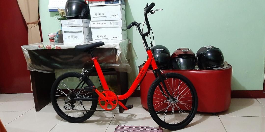Sepeda Minion Ukuran 20 Olah Raga Sepeda Di Carousell